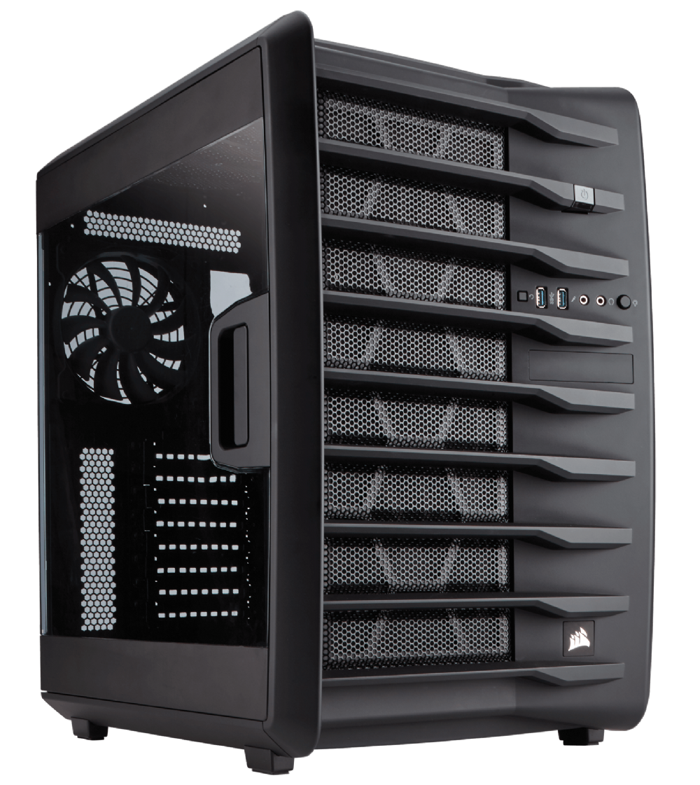 THÙNG CASE CORSAIR - AIR 740 BLACK - CC-9011096-WW