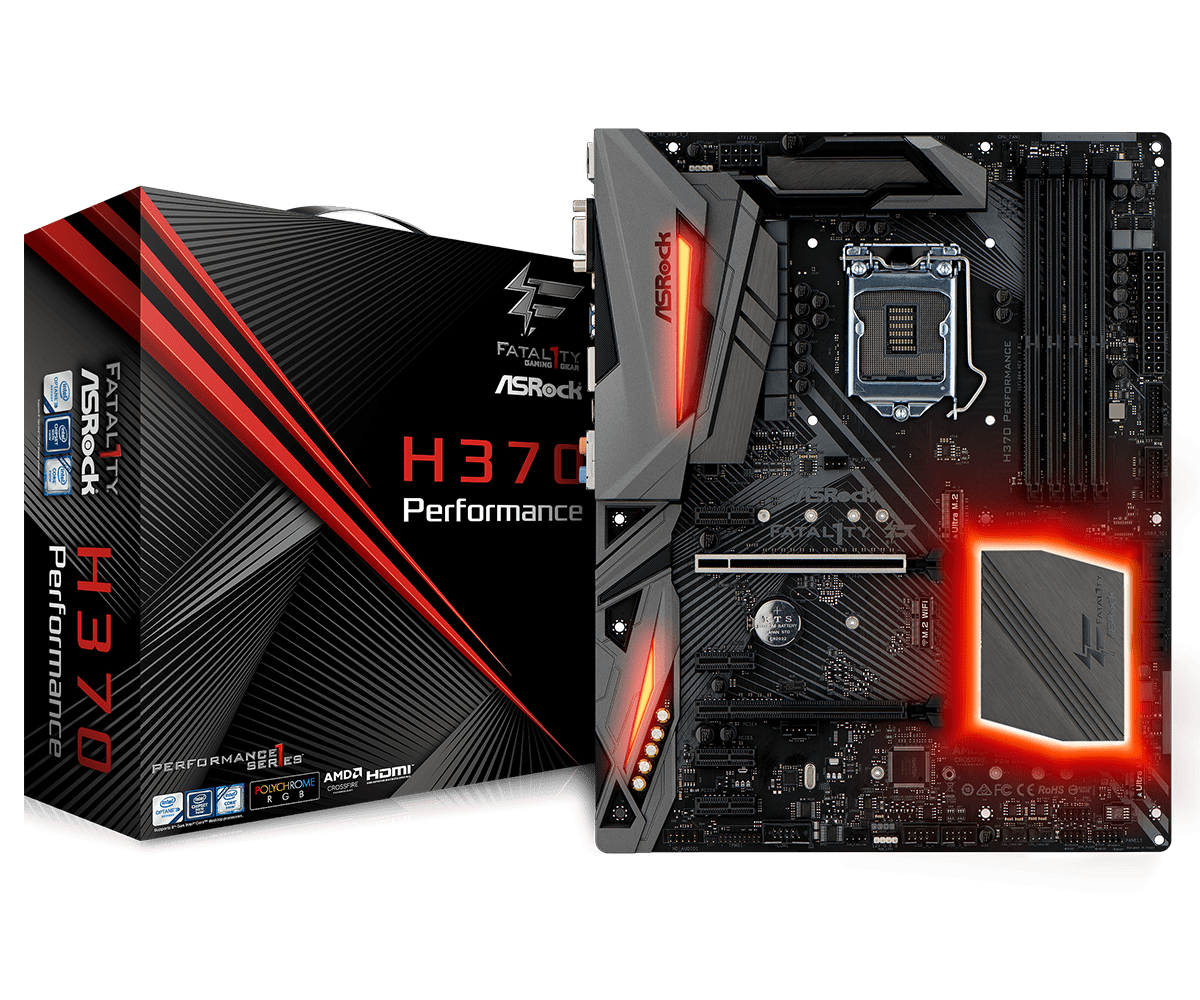 Main AsRock H370 Performance Socket 1151 v2