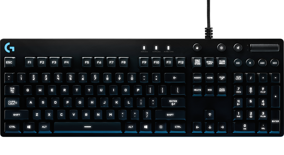 BÀN PHÍM LOGITECH G810 Orion Spectrum RGB Mechanical Gaming Keyboard