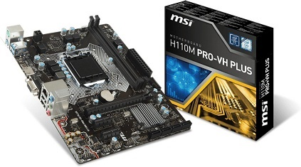 MAIN MSI H110M PRO VH PLUS - Socket LGA1151