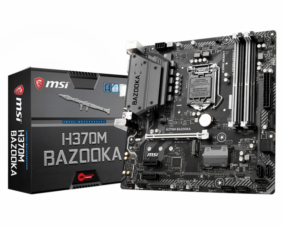 Main MSI H370M BAZOOKA Socket 1151 v2