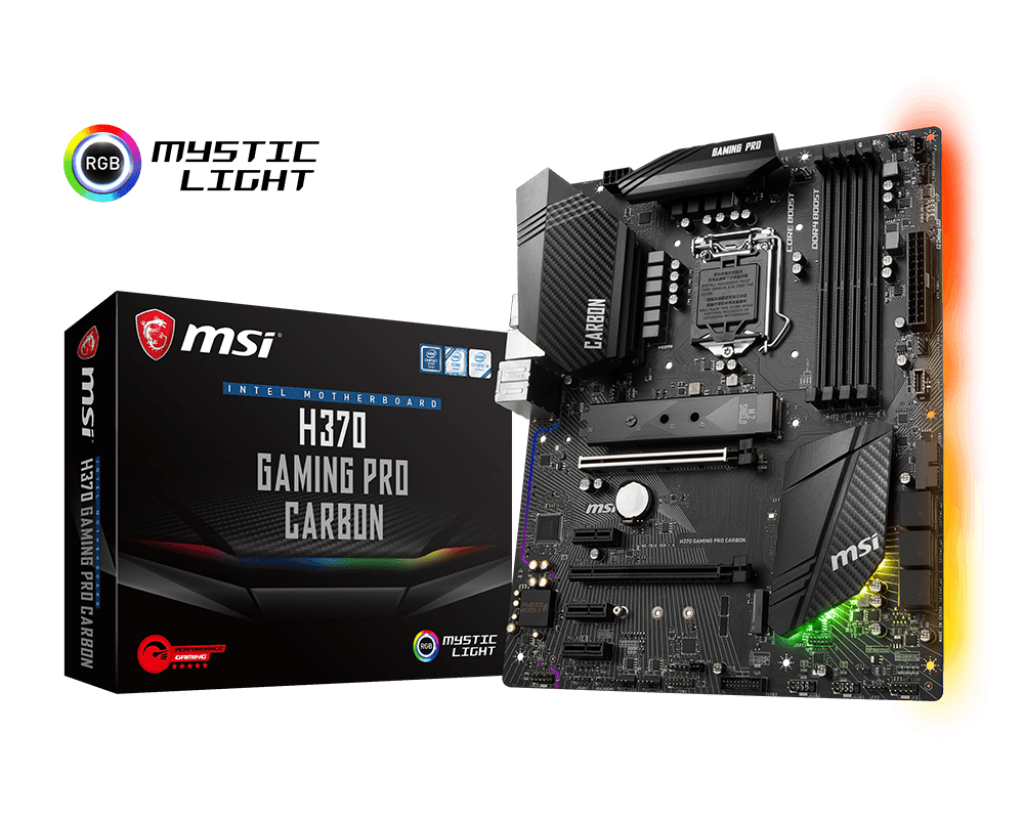 Main MSI H370 GAMING PRO CARBON Socket 1151 v2