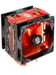 FAN FOR CPU COOLER MASTER HYPER 212 LED TURBO RED