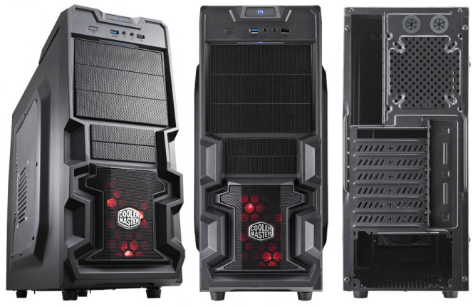 CASE coolermaster K380- window