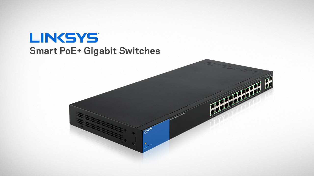 LINKSYS LGS326P - 26-Port Smart PoE+ Gigabit Switch