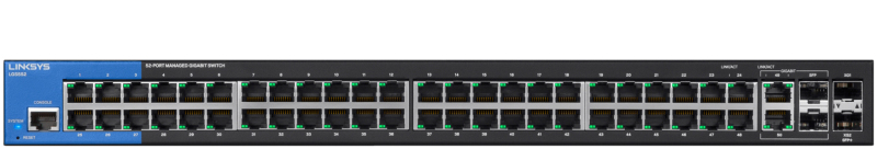LINKSYS LGS528P - 28-Port PoE+ Managed Gigabit Switch