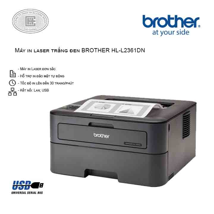 Máy in laser Brother HL-L2361DN