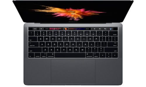 MACBOOK PRO 2017 SPACE GREY- Touch Bar