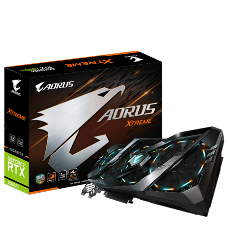 CARD VGA AORUS GeForce® RTX 2080 Ti N208TAORUS-11GC