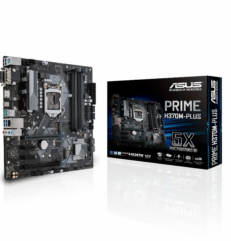 Main Asus PRIME H370M-PLUS Socket 1151 v2