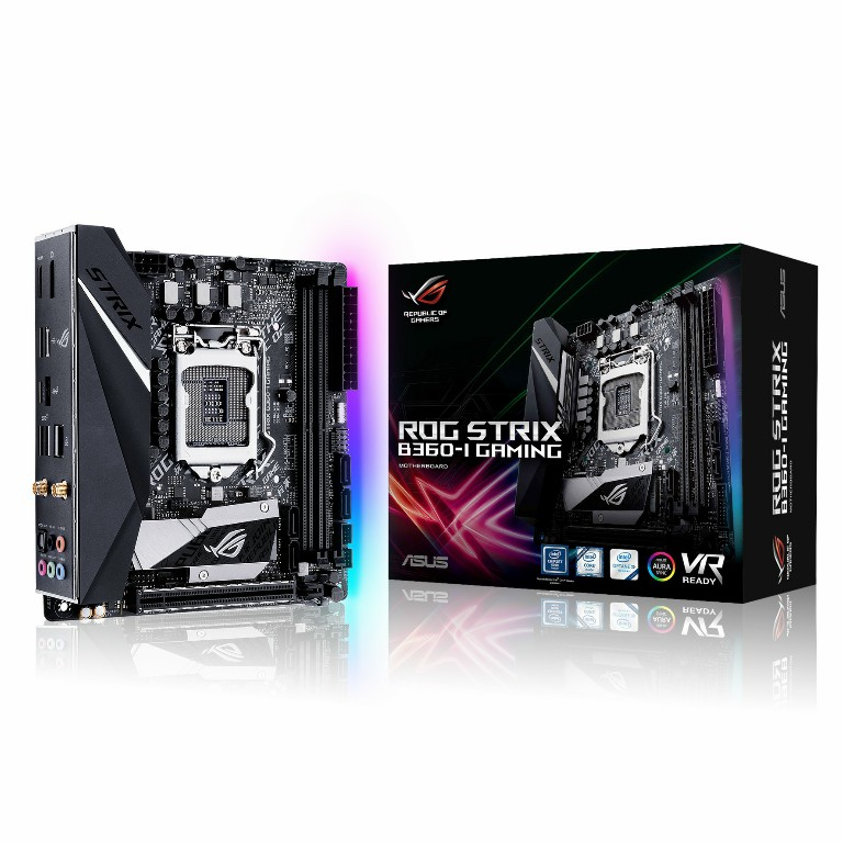 Main Asus ROG STRIX B360-I GAMING Socket 1151 v2