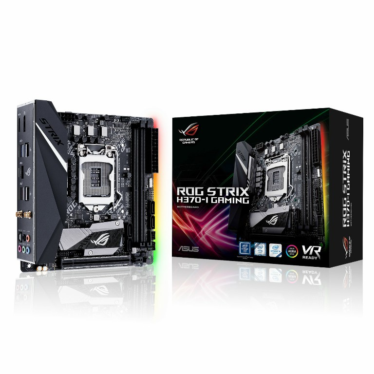 Main Asus ROG STRIX H370-I GAMING Socket 1151 v2