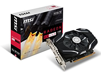 VGA MSI - RX 460 2G OC - CHIP AT Radeon™ RX 460 , PCI Express 3.0