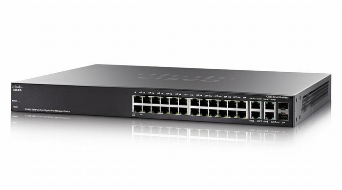 CISCO SG300-28MP SWITCH PoE - 28 PORT