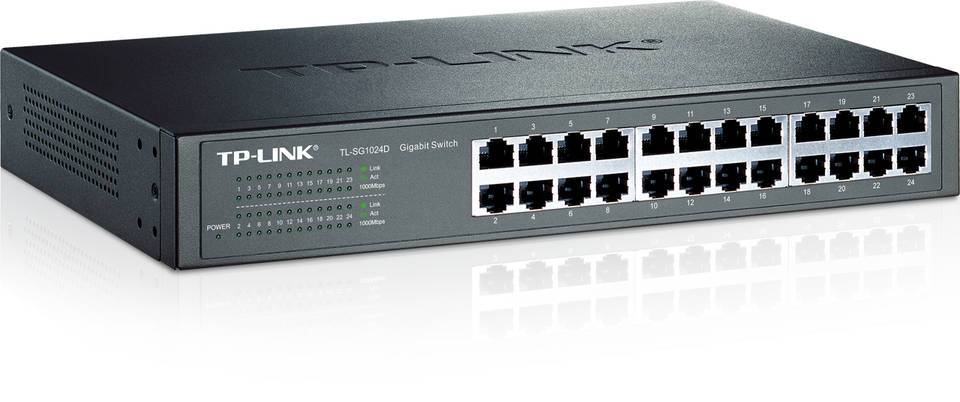 SWITCH TP-LINK -Unmanaged Pure-Gigabit Switch - TL-SG1024D