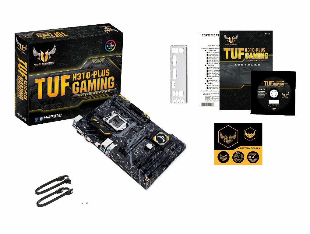 Main Asus TUF H310-PLUS GAMING Socket 1151 v2