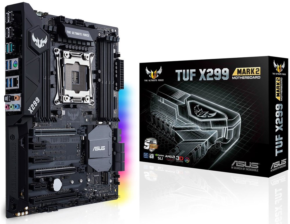 Main Asus TUF X299 MARK 1 - Socket LGA2066