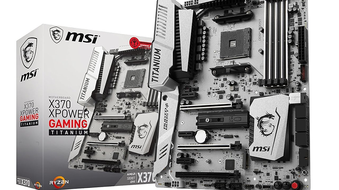 MAIN MSI X370 XPOWER GAMING TITANIUM - SOCKET AM4