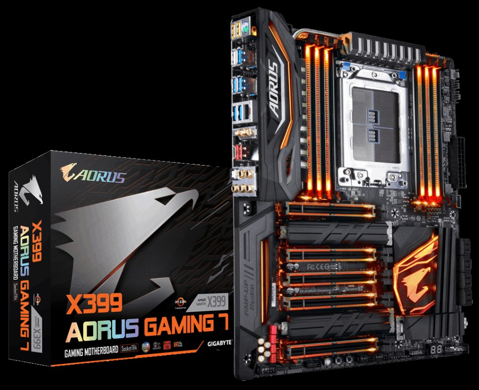 Main GigaByte X399 AORUS Gaming 7 Socket TR4