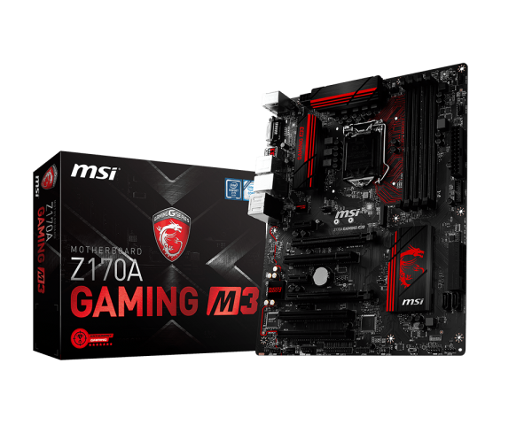 MAIN MSI Z170A GAMING M3 - Socket LGA1151