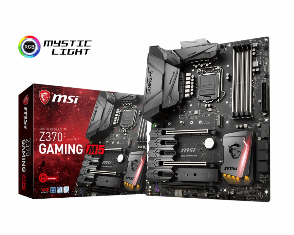 Main MSI Z370 GAMING M5 Sọket 1151 v2