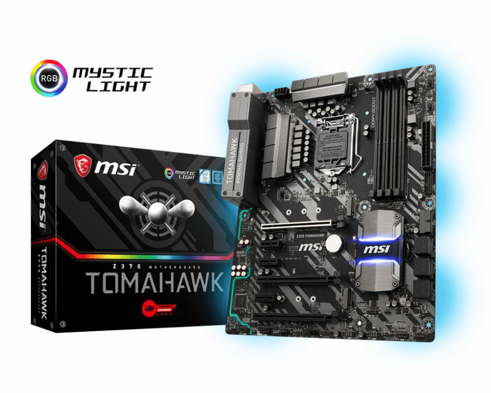 Main MSI Z370 TOMAHAWK Socket 1151 v2