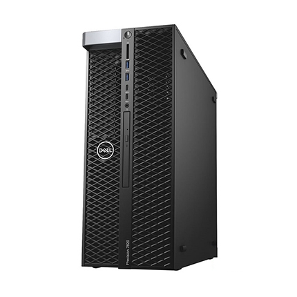 Máy bộ Dell Precision Tower 7820 XCTO Base Xeon Silver 4112/2*8GB ECC/256GB/2TB/Quadro P5000 16GB/Windows 10 Pro - 42PT58DW25