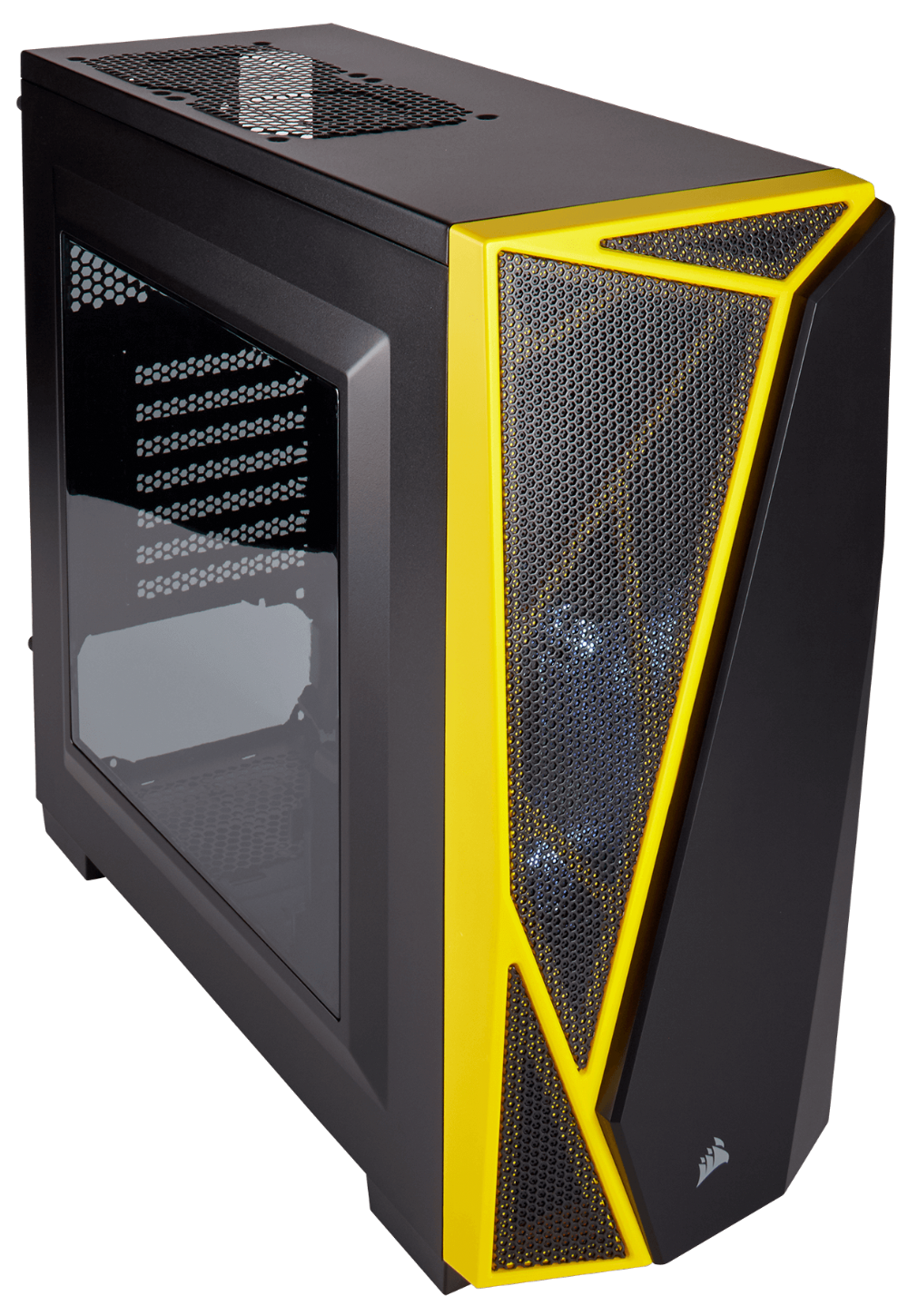 THÙNG CASE CORSAIR - SPEC-04 Black / Yellow - CC-9011108-WW