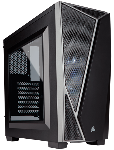 THÙNG CASE CORSAIR - SPEC-04 Black / Grey - CC-9011109-WW