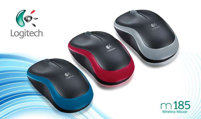 Chuột Logitech LOGITECH WIRELESS MOUSE M185
