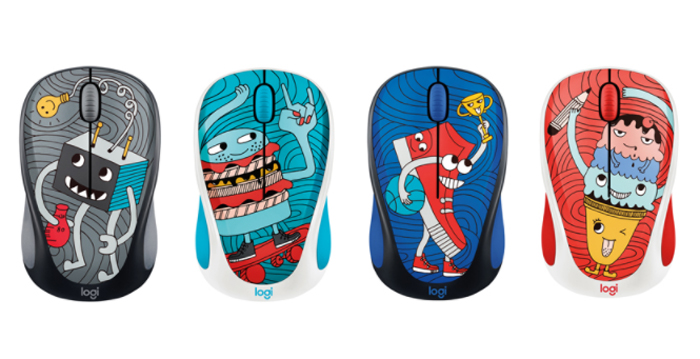 Chuột LOGITECH WIRELESS MOUSE M238 Doodle collection